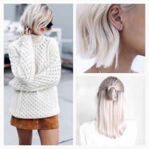 cheveux blonds blancs. Black Bedroom Furniture Sets. Home Design Ideas